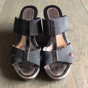 Charles David wedge sandal size 6.5